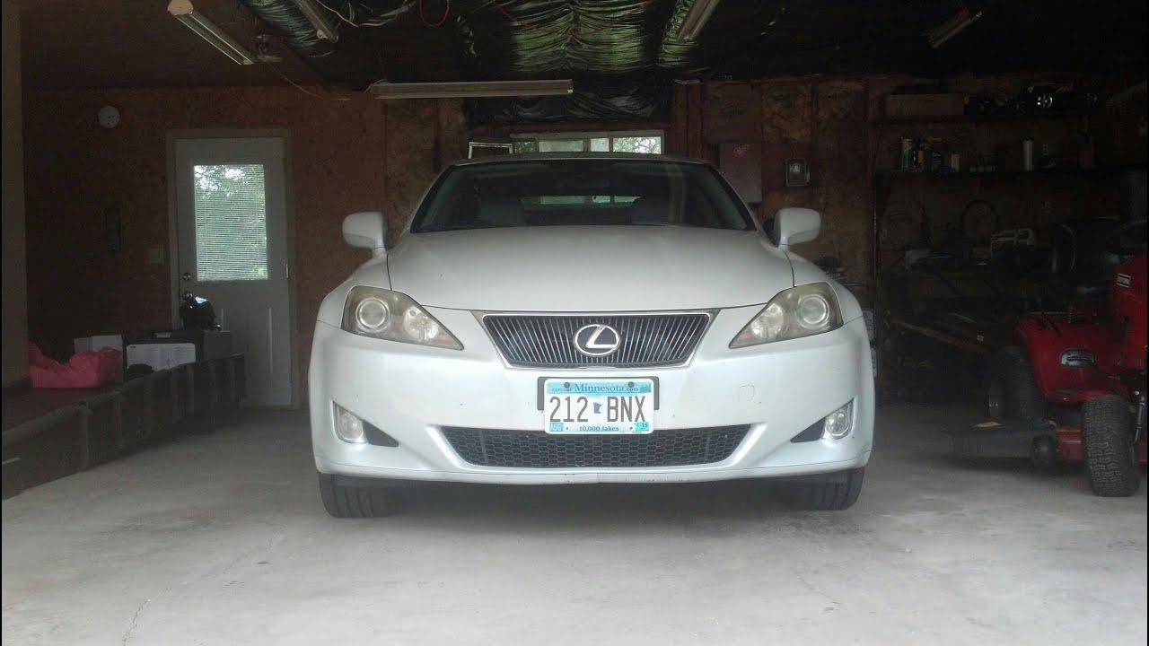 2007 lexus is250 headlight cover