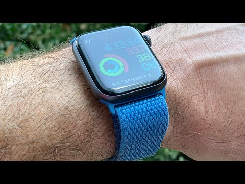 Love it! Cape Cod Blue Apple Watch 4 Sport Band (44mm) Review