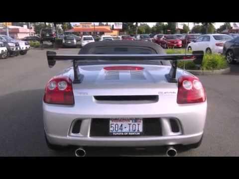 2005 Toyota MR2 Spyder Seattle WA   YouTube