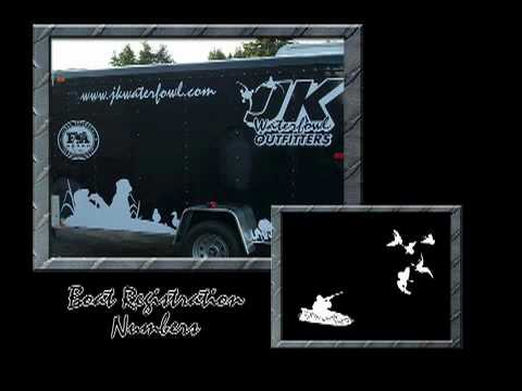 D3 TV 2010 Waterfowl Decal Commercial