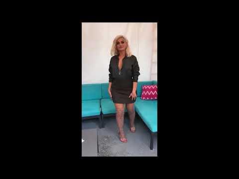 Bebe Rexha In Las Vegas (Instagram/Snapchat) Videos