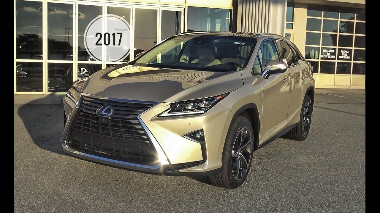 2017 Lexus Rx350 Luxury Package Review In Depth Tutorial Flow Of Greensboro You