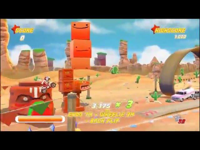 Joe Danger Gameplay (PC HD)