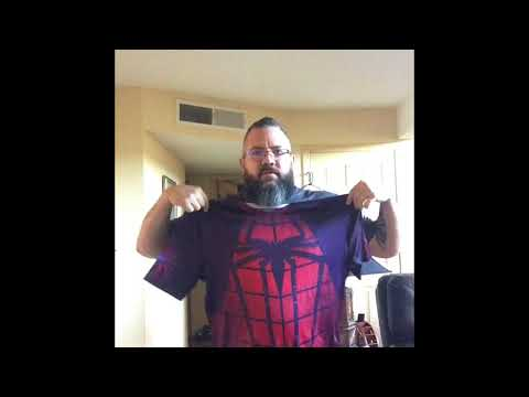 Ebay superhero compression shirt review.