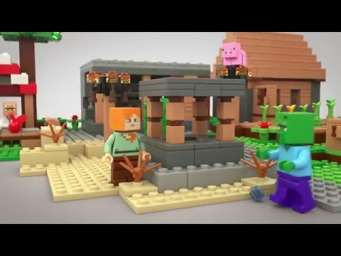 LEGO® Minecraft - 21128 The Village - Product Animation