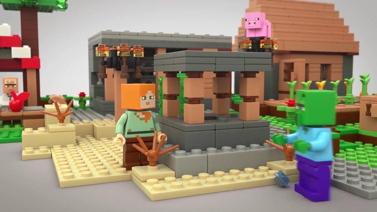 lego minecraft videos youtube