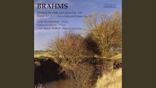 2 Gesänge, Op. 91: No. 1, Gestillte Sehnsucht in D Major