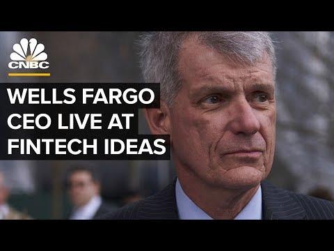 Wells Fargo CEO Tim Sloan & Mastercard CEO Ajay Banga at BPI's Fintech  Ideas — March 27, 2019