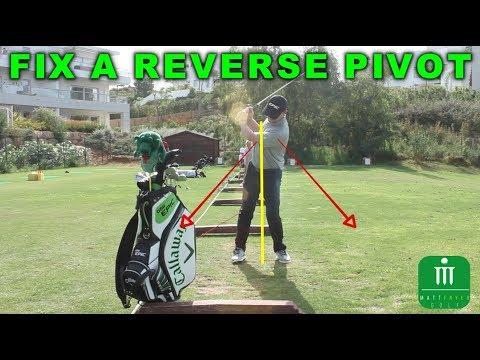 GOLF TIP - HOW TO FIX A REVERSE PIVOT