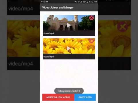 Video Joiner or Merger : Android
