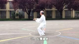 64式太極拳正向 (2014.05.17)