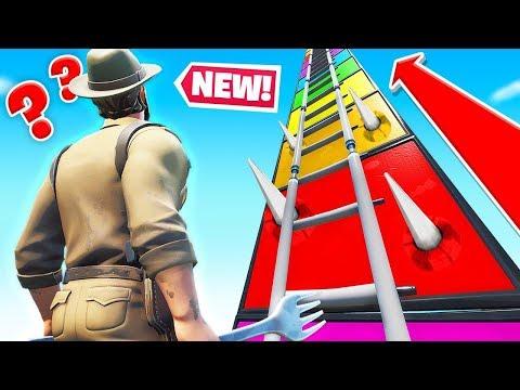 CLIMB The TOWER To ESCAPE (Fortnite)