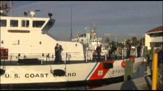 Coast Guard Cutter Alligator Conducts Drug Offload in St  Petersburg, Fla