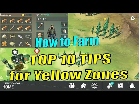 TOP 10 TIPS TO FARM YELLOW ZONES! LAST DAY ON EARTH How to Farm Gameplay