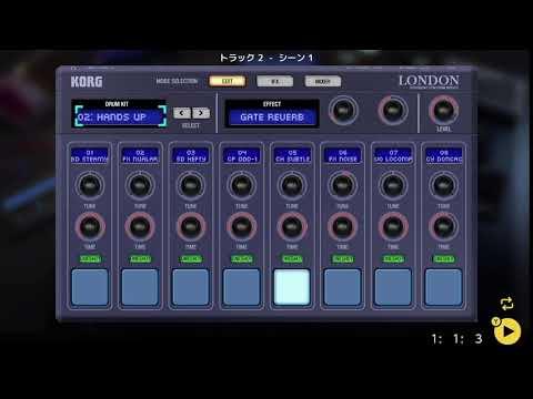 画像2: 04 05 ドラムの音を決める バレッドプレス KORG Gadget for Nintendo Switch講座 www.youtube.com