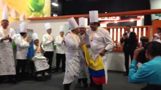 Copa Maya de Pastelería 2014 (Premios y piezas artísticas destacadas)