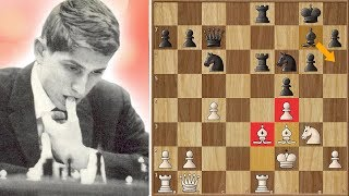 A Queen for a King - One of my Favorite Bobby Fischer Games