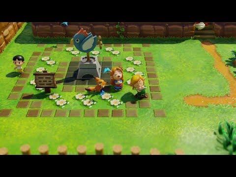 The Legend Of Zelda: Link's Awakening (Switch) - Dream Shrine - Ocarina & Ballad Of The Wind Fish