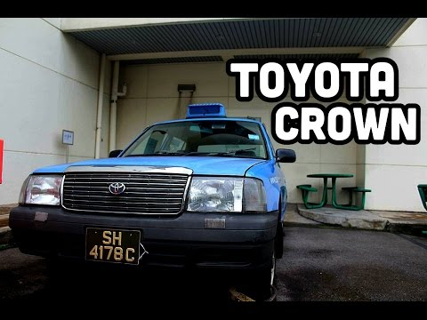 [Comfortdelgro] Toyota Crown taxi Preserved