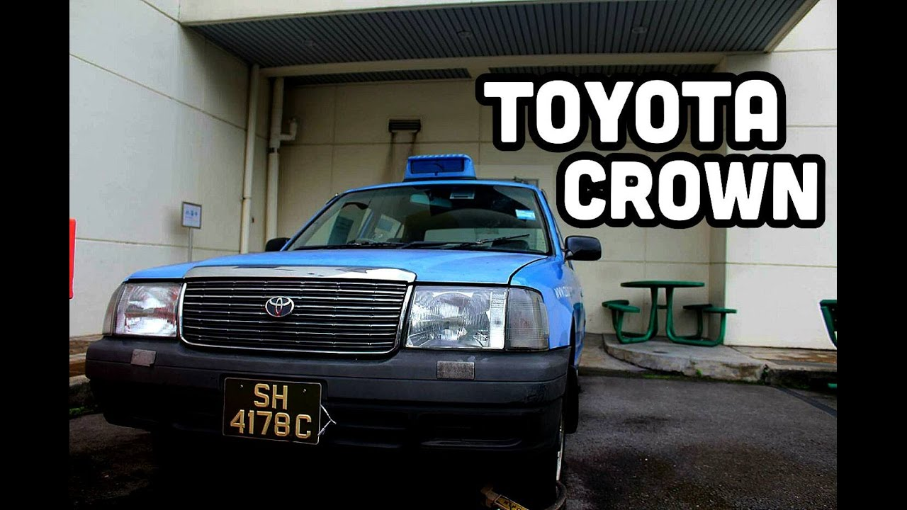Comfortdelgro Toyota Crown Taxi Preserved