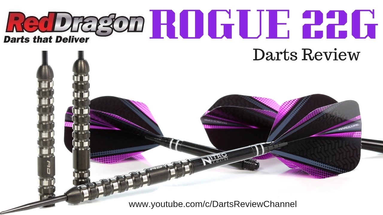 e19640b2719 Red Dragon Rogue 22g Darts Review - YouTube