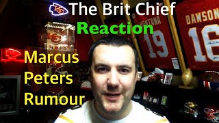 Reaction to Marcus Peters Rumour - The Brit Chief