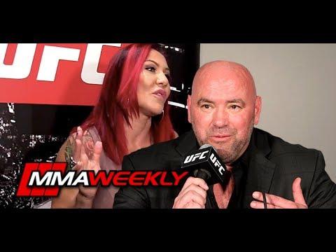 Cris Cyborg Forgives Dana White for Rocky UFC Start
