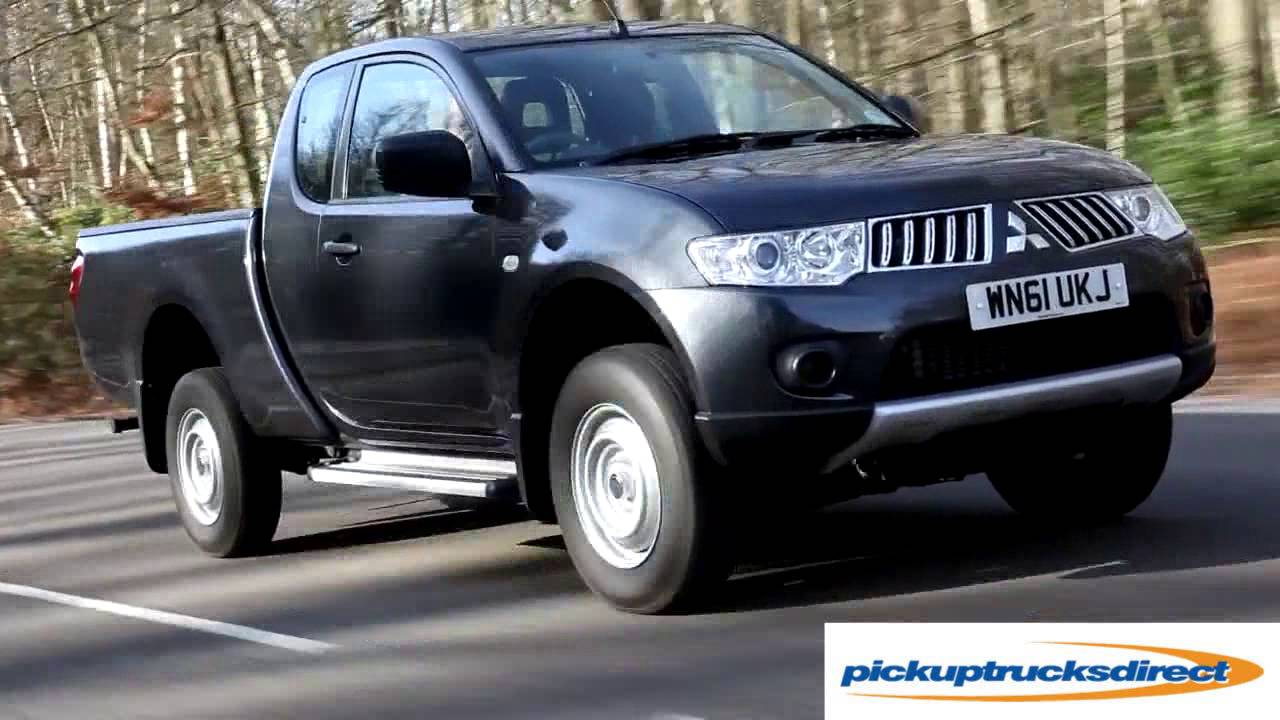 mitsubishi l200 club cab review youtube. Black Bedroom Furniture Sets. Home Design Ideas
