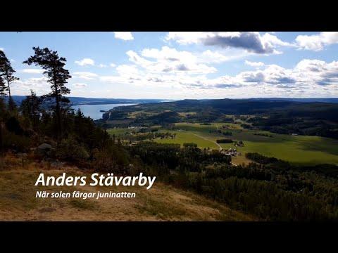 """""""När solen färgar juninatten"""" cover med Anders Stävarby"""