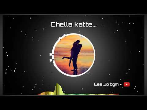 Chella katte bgm | cover  by nikhil | whatsapp status | Lee Jo bgm