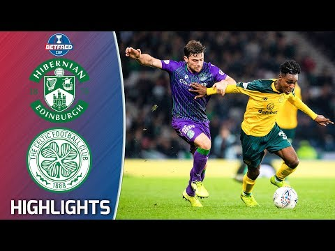 Hibernian V Celtic | 2019/20 Betfred Cup Semi-Final | Betfred Cup