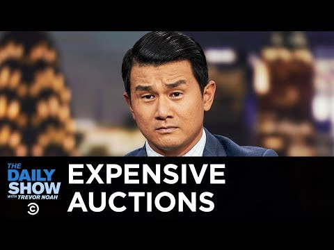Everything Is Stupid - Expensive Auction Crap | The Daily Show