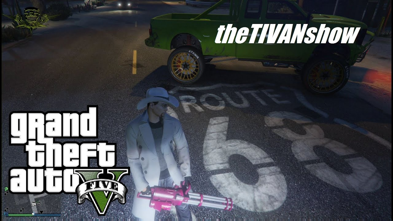 theTIVANshow : GTA5 - RUN FOR YOUR LIFE game mode - PS4 - live