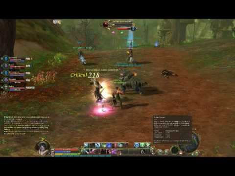 Aion - Party @ Black Claw Outpost/Village