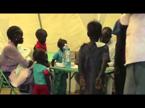 """South Sudan: """"the bullets are passing us during the crossfire"""""""