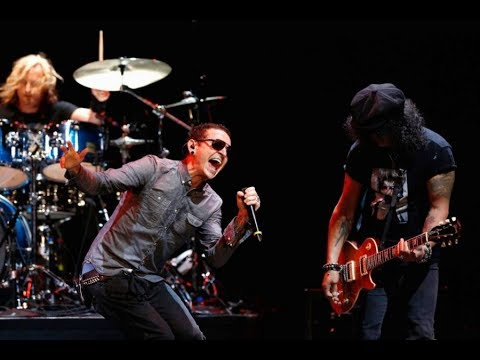 SLASH & CHESTER BENNINGTON – All The Young Dudes (Live 2013)