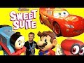 Thomas and Friends Mario Nintendo Switch at Sweet Suite 2018 Party with TOYS!!