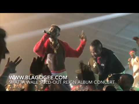 Shatta Wale Epic Performance As He Proposes To Shatta Michy At Reign Album Concert