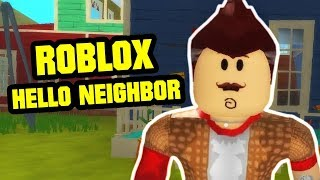 Hello, Brother! - Alpha 2 Chapter 1 SPEED RUN | Hello Neighbor Roblox Map