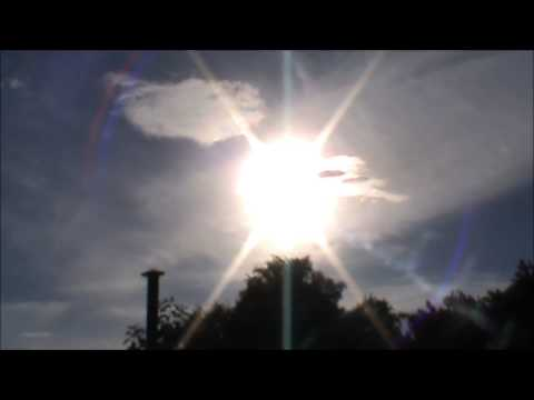 Strange Skies and Sun snapshots of 8 December 2012 Canberra Australia