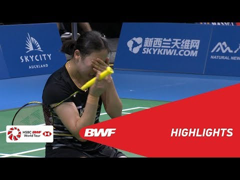 BARFOOT & THOMPSON New Zealand Open 2019  | Semifinals WD Highlights | BWF 2019