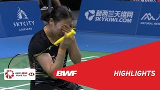 Download Video BARFOOT & THOMPSON New Zealand Open 2019  | Semifinals WD Highlights | BWF 2019 MP3 3GP MP4