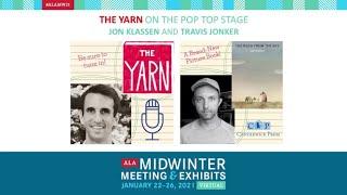 The YARN Podcast: Jon Klassen talks with Travis Jonker about THE ROCK FROM THE SKY