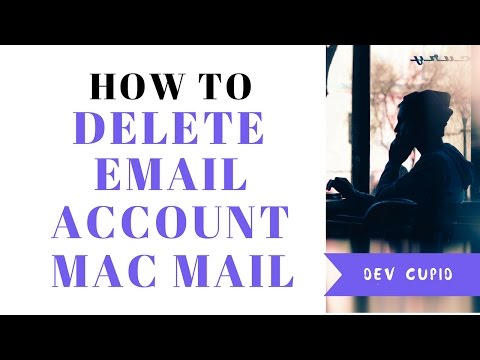 How to delete mail account macbook air