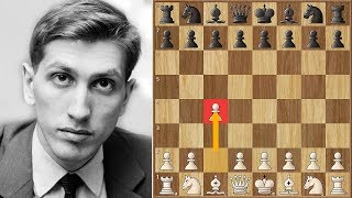 Bobby Fischer's Opponent Resigns on Move 1