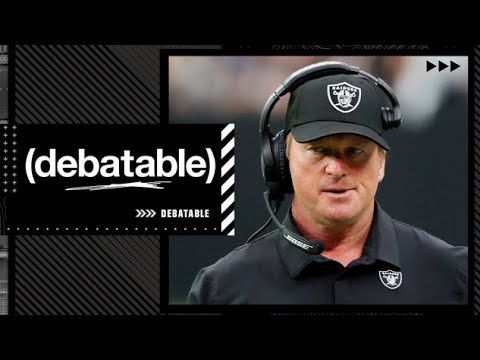 (debatable) shares thoughts on Jon Gruden's resignation from the Raiders