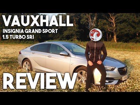 2018 Vauxhall Insignia Grand Sport 1.5 Turbo SRI Review