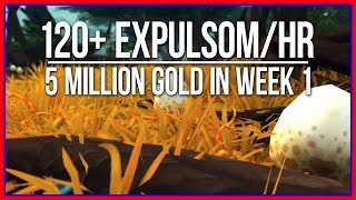 Farming 120 Expulsom an Hour | How I made 5 million in a Week