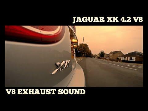 2006 Jaguar XK (X150) 4.2 V8 Standard Exhaust Sound - Go Pro