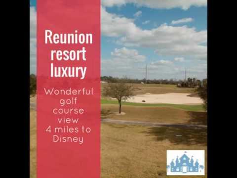 Reunion resort luxury. Kissimmee, encore area.